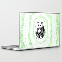 pandas Laptop & iPad Skins featuring PANDAS! by Sagara Hirsch