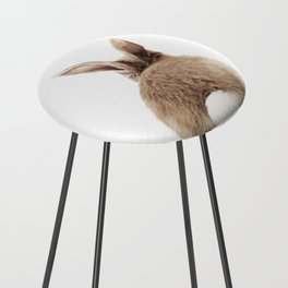Bunny Back Counter Stool