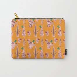 Mid Mod Cactus Yellow Carry-All Pouch