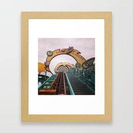 Going Up... Framed Art Print