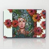chakra iPad Cases featuring Chakra Sadhna by Harsh Malik