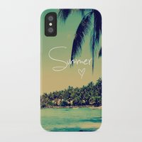 coachella iPhone & iPod Cases featuring Summer Love Vintage Beach by Directapparelco