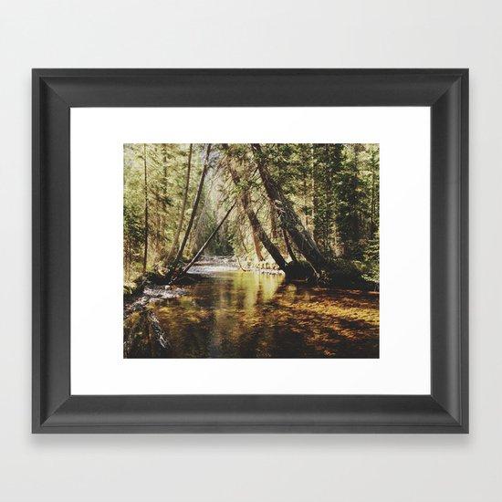 East Inlet Creek Framed Art Print