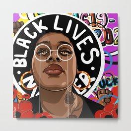 BLACK. LIVES. MATTER. Metal Print