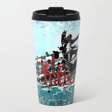 ride hard - snow Travel Mug