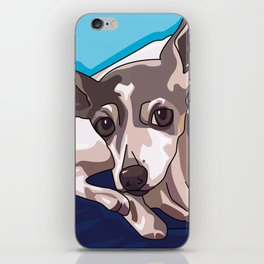 Jasmine Dog iPhone Skin