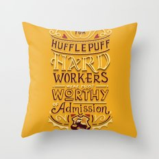 Hard Workers Throw Pillow
