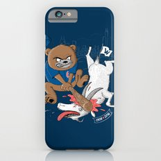 The Goat is Dead! (blue version) Slim Case iPhone 6s