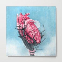 Heart's Apart Metal Print