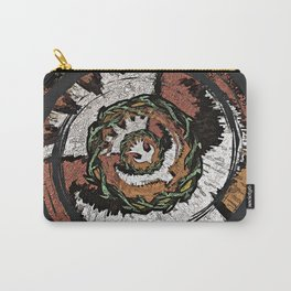 The Holy Dove & Crown Of Thorns Carry-All Pouch