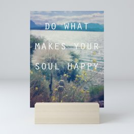 Happy Soul Mini Art Print