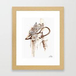 Bell'Italia - Miss Rome Framed Art Print