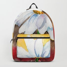 daisy with edge Backpack