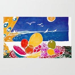 Fruit Bounty AUSTRALIA           by Kay Lipton Rug