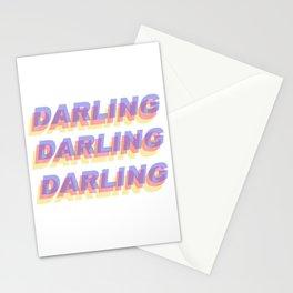darling darling darling Stationery Cards