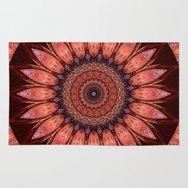 Mandala mystic flower Rug