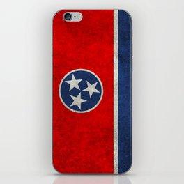 Tennessee State flag, Vintage version iPhone Skin