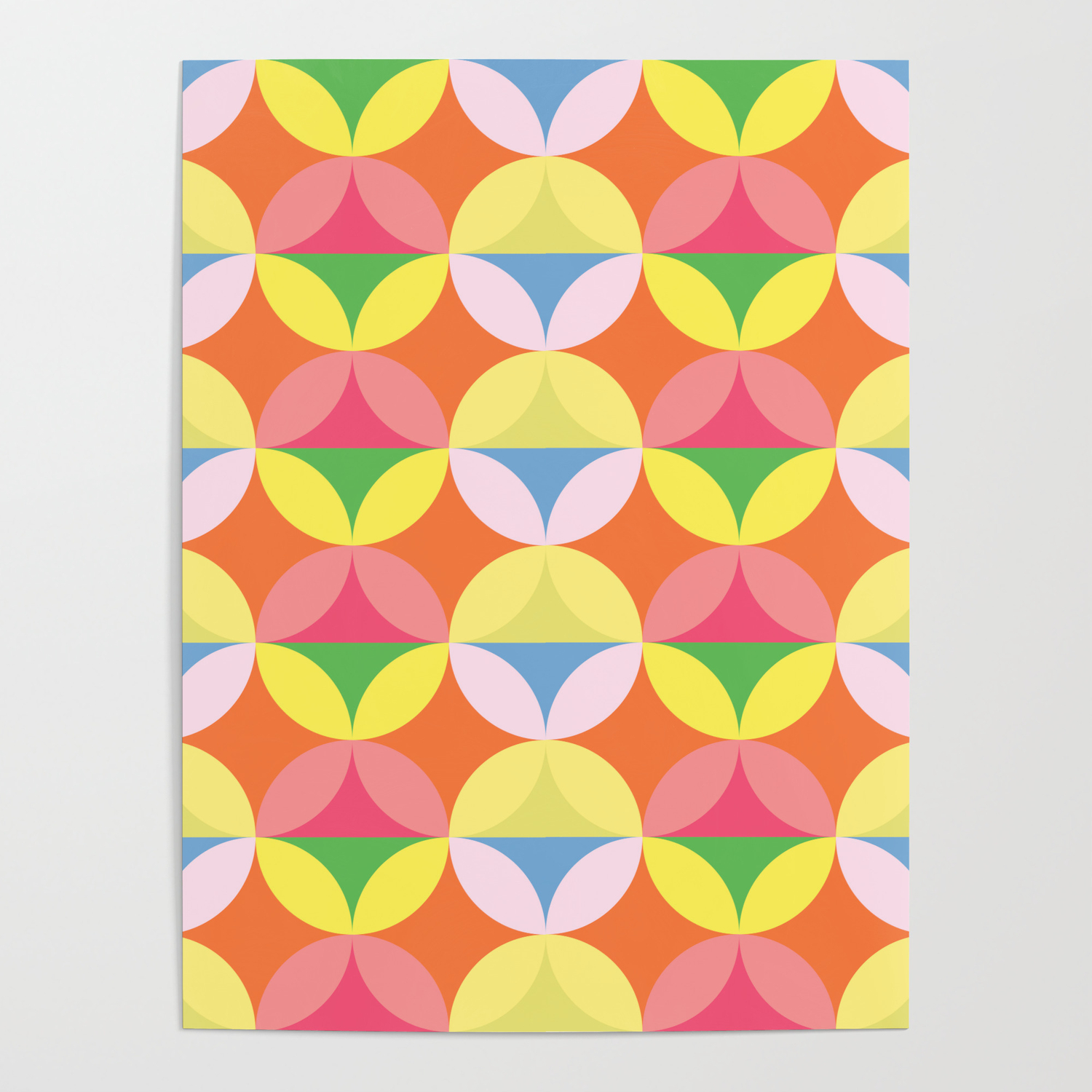 Vintage 20s Wallpaper Poster by Mister Pattern