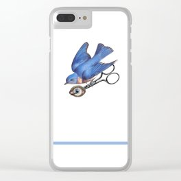 Eye collector Clear iPhone Case