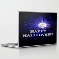 halloween Laptop & iPad Skins featuring HALLOWEEN by WhimsyRomance&Fun