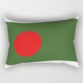 bangladesh flag Rectangular Pillow