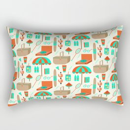 Picnic Rectangular Pillow