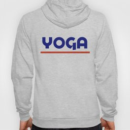 YOGA - Blu&red Hoody