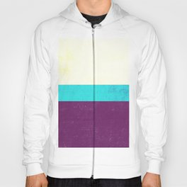 Textured Purple, Blue, White Hoody