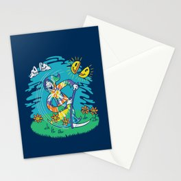 The Not-So-Grim Reaper Stationery Cards