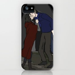 Alternate Ending to Once Upon A Time Series Finale - Outlaw Queen iPhone Case