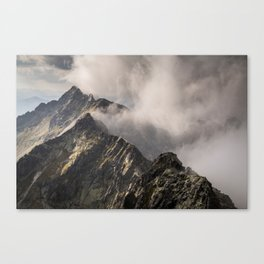 The moment of perfection Canvas Print