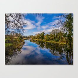 Kennet and Avon Canal Canvas Print