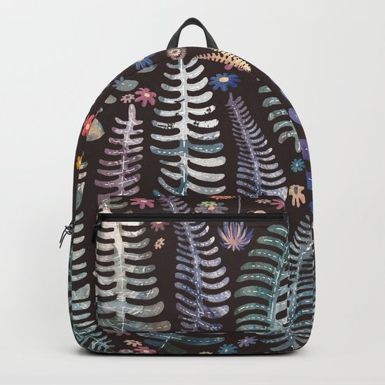 wild nature flowers Backpack