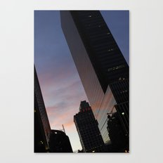 NYC Sunset Canvas Print