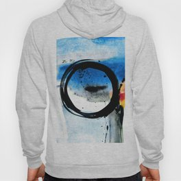 Enso Abstraction o. 113J by Kathy Morton Stanion Hoody