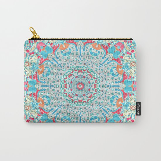 BOHO SUMMER JOURNEY MANDALA Carry-All Pouch