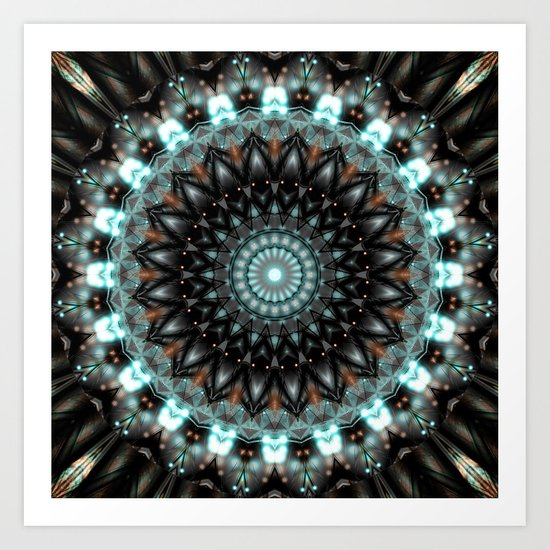 Mandala Artistic Creativity Art Print