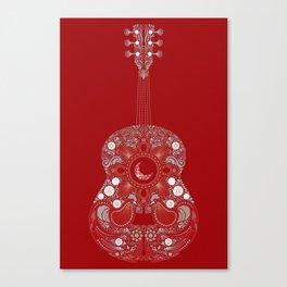 Roja es mi pasion Canvas Print