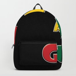 ghana Country Flag Backpack