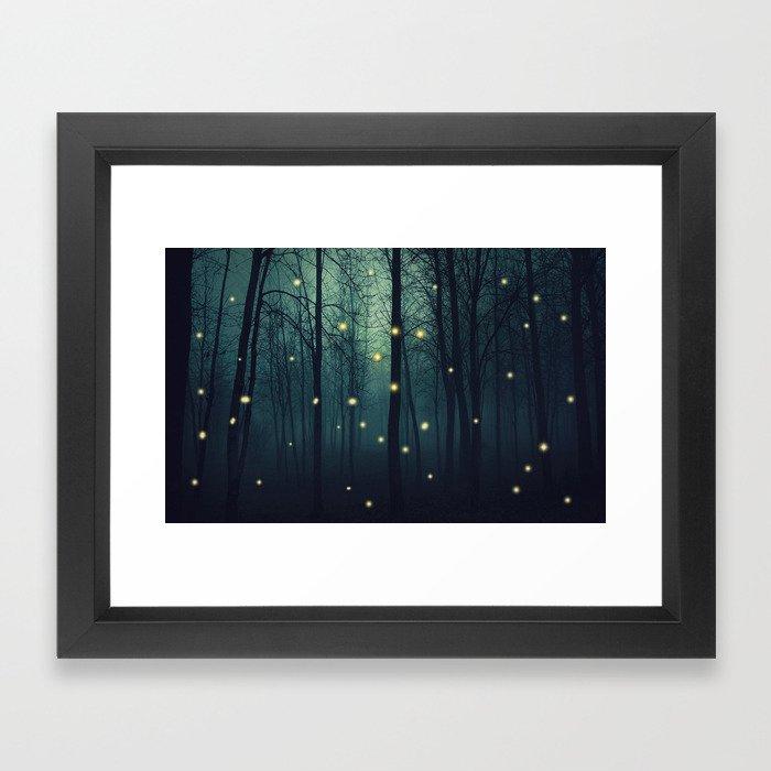 Enchanted Trees Framed Art Print