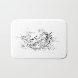 Dragon Ink Bath Mat