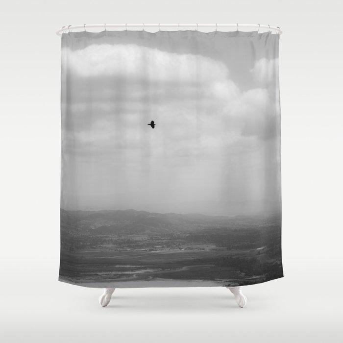 HAZY DAYZ Shower Curtain