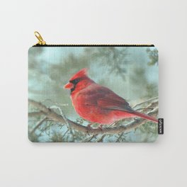 Dreamy Morning (Northern Cardinal) Carry-All Pouch