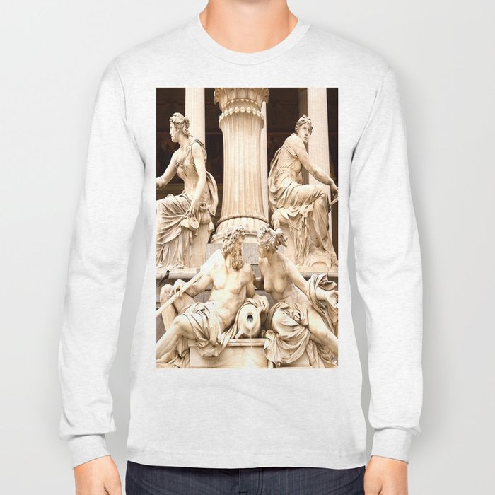 Beautiful Sculptures #decor #society6 Long Sleeve T-shirt