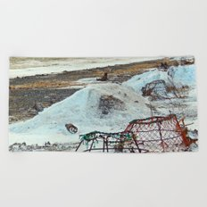Crab Cages and The Cove Beach Towel