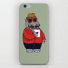 Hipposter iPhone & iPod Skin