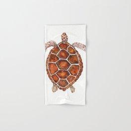 Turtle,Shell, Tortoise, Sealife, Lover, Animal Love, Brown Turtle, Wildlife, Turtle Lover, Turtles Hand & Bath Towel