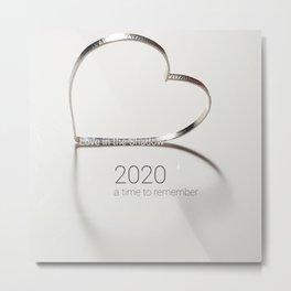 Love In The Shadow 2020 Metal Print