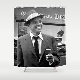 Frank Sinatra In Las Vegas Shower Curtain