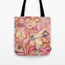 Visceral madness Tote Bag